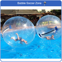 Free Shipping 2m Inflatable Water Walking Toys Ball Water Zorb Ball Walking On Water Ball Air Human Hamster Ball