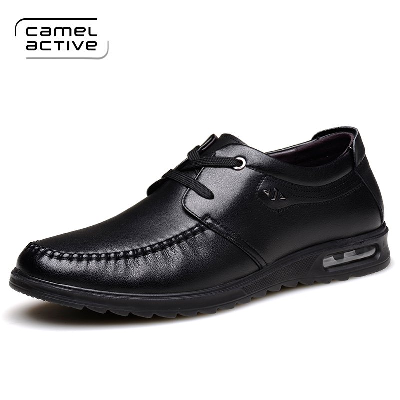 Camel Active New Spring Fashion Oxford Business Men Shoes Genuine Leather High Quality Soft Casual Breathable Men's Flats Shoes men shoes tide shoes casual fashion oxford business men shoes leather high quality soft casual breathable men s flats man shoes