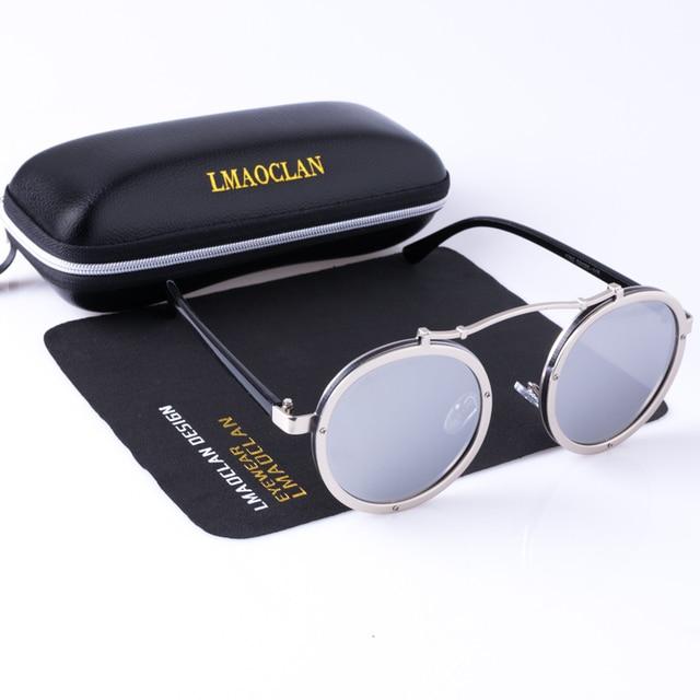 Sun Women Us9 Vintage From 48Off Retro Round Eyewear 88 Sunglasses Accessories 1762 Glasses Apparel Oculos In 2018 Steampunk Men RqjL354A