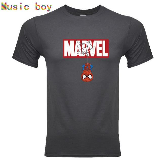 חדש קיץ 3D ברזל ספיידרמן T חולצה גברים מארוול נוקמי גברים דחיסת חולצה קרוספיט קצר שרוול מותג טי חולצה חולצות & Tees