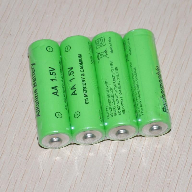 4-10pcs UNITEK 1.5v AA rechargeable battery 14500 cell 3000mah alkaline for led flashlight toys clock camera remote control цены онлайн