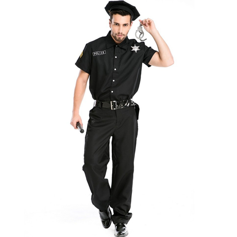 sc 1 st  AliExpress.com & Buy men cop costume and get free shipping on AliExpress.com