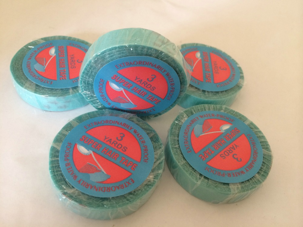 Super Double Sided Medical Tape Use Strong Adhesives For Lace Wig/Reapplication Tape Hair Extensions/PU Skin Weft Hair Extension
