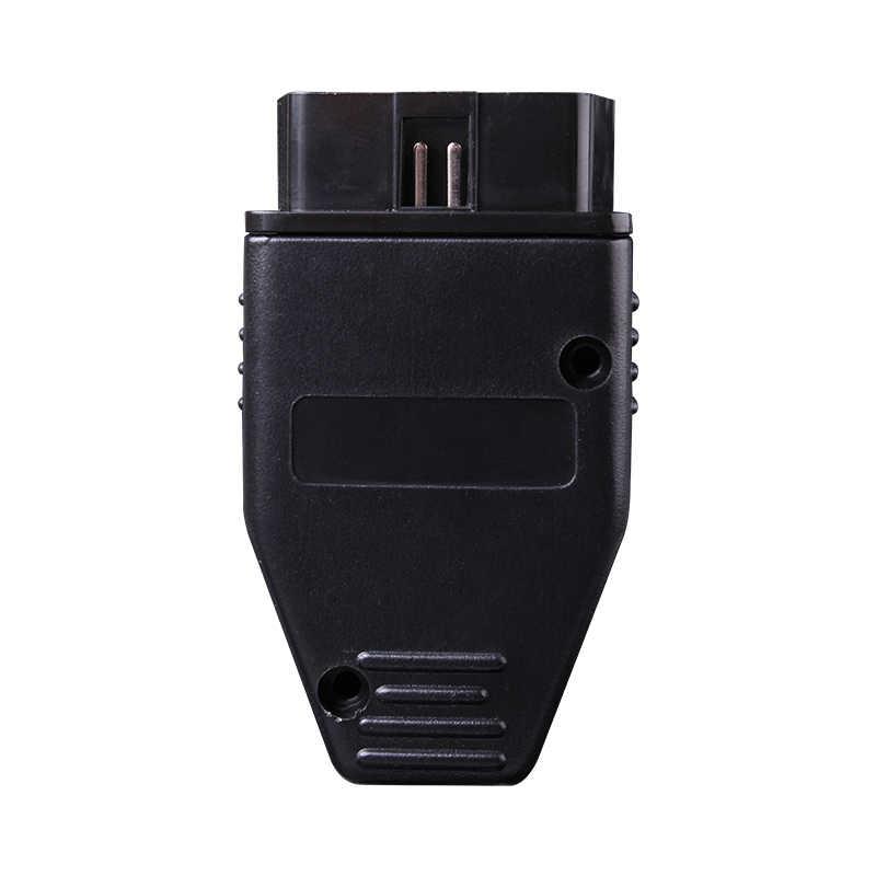 16 pin Obd shell connector diagnostic-tool obd2 16pin Adaptor eobd2 obdii J1962 Connector obdii plug with screws