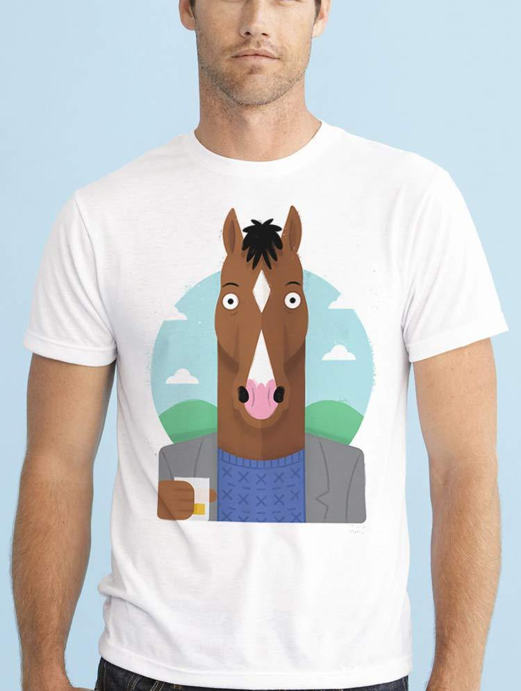 Gildan BOJACK HORSEMAN NETFLIX TV SHOW AARON PAUL men t shirt
