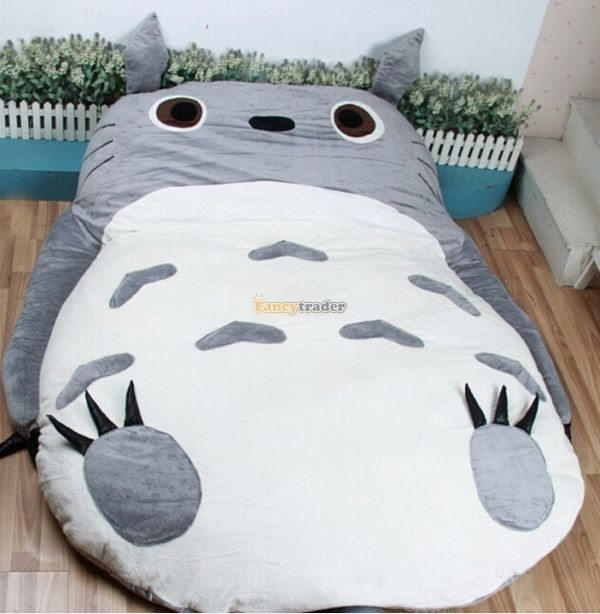 Fancytrader 200cm X 160cm Huge Giant Totoro Bed Carpet Tatami Mattess Sofa, 2 Models, FT50325  (3)