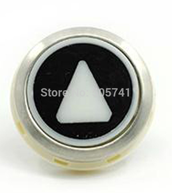 Electronic Components & Supplies Have An Inquiring Mind Elevator Button Kone Black Button Kds50 Round Black Push Button Kds300 853343h04 Bright Luster