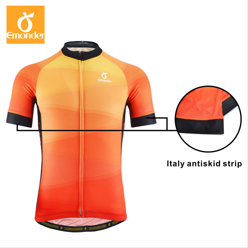 EMONDER Summer Cycling Jersey Set Mens Pro Team Riding Bike Bicycle Jersey  4D Pad Shorts Cycling Wear Roupa Ciclismo-in Cycling Sets from Sports ... 725ed853f