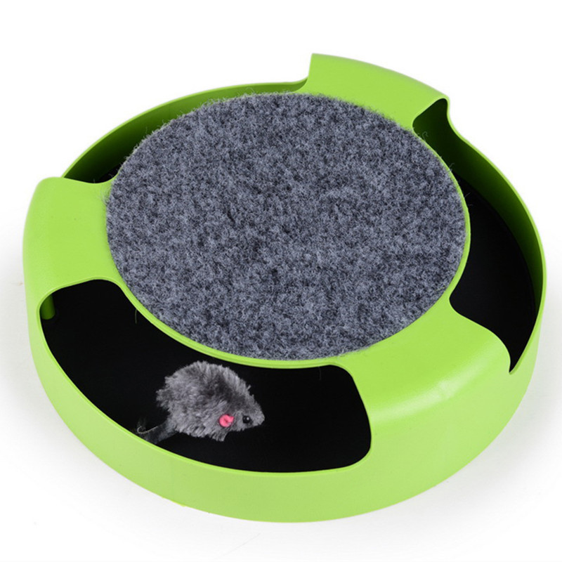 Interactive Rotating Mouse for Cats