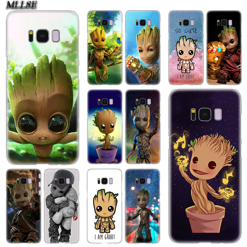 MLLSE Guardians Of The für <font><b>Galaxy</b></font> Marvel Heißer Harte Fall Abdeckung für <font><b>Samsung</b></font> <font><b>Galaxy</b></font> S10 Lite S9 S8 Plus S7 <font><b>s6</b></font> Rand S5 S4 Mini Abdeckung image