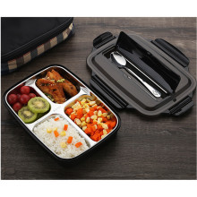 Stainless Steel 304 Lunch Box Set With Spoon and Chopsticks