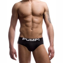 Hot Sale Men Underwear Sexy Pure Cotton Solid Black/White Men's Briefs Underwear