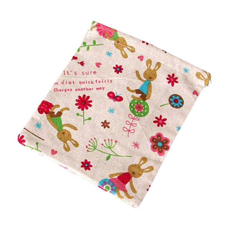 Home storage organization Underwear lingerie shoe bag toy organizer Multifunction Fluid Systems pouch Item Accessories -rabbit