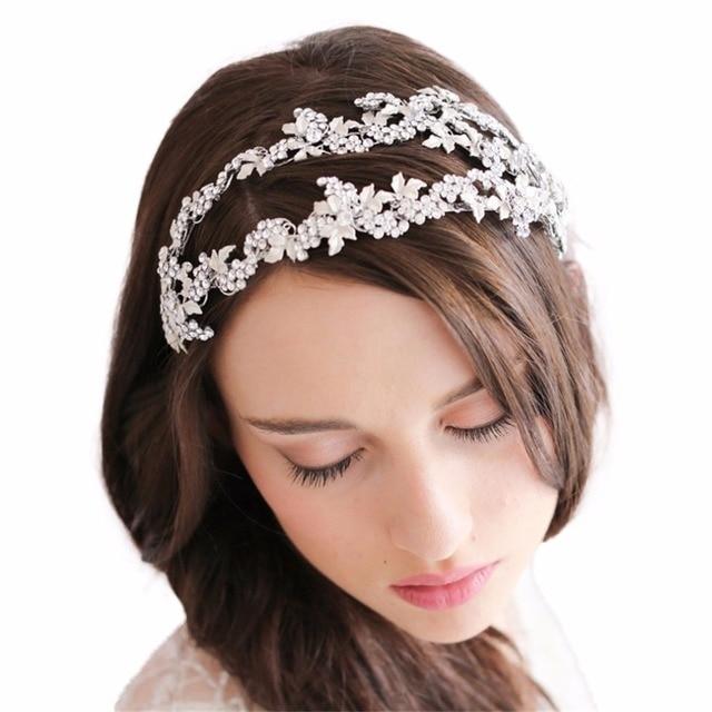 Aliexpress.com : Buy Gorgeous Crystal Bridal Headband Wedding ...
