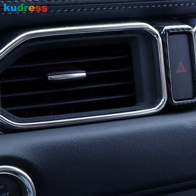 For Mazda CX5 CX 5 2017 2018 Interior Middle Console Air Condition Vent  Outlet Cover