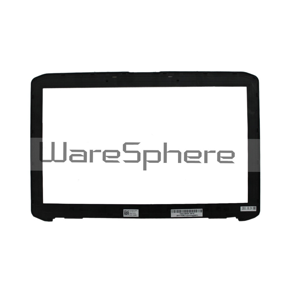 New Original LCD Front Trim Bezel Wihtout Webcom Port for DELL Latitude E5520 5520 15XYC 015XYC Laptop Cover Black image