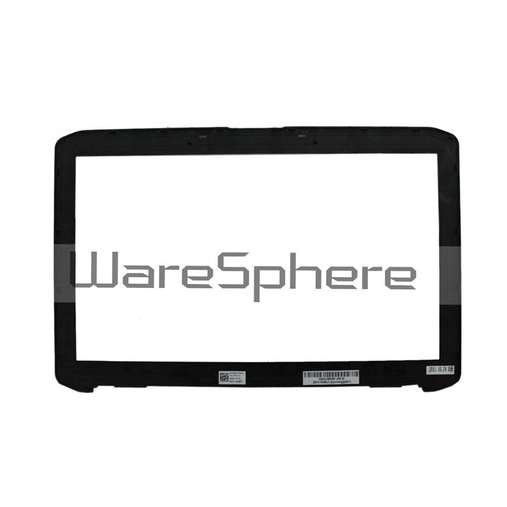 New Original LCD Front Trim Bezel Wihtout Webcom Port for DELL Latitude E5520 5520 15XYC 015XYC Laptop Cover Black