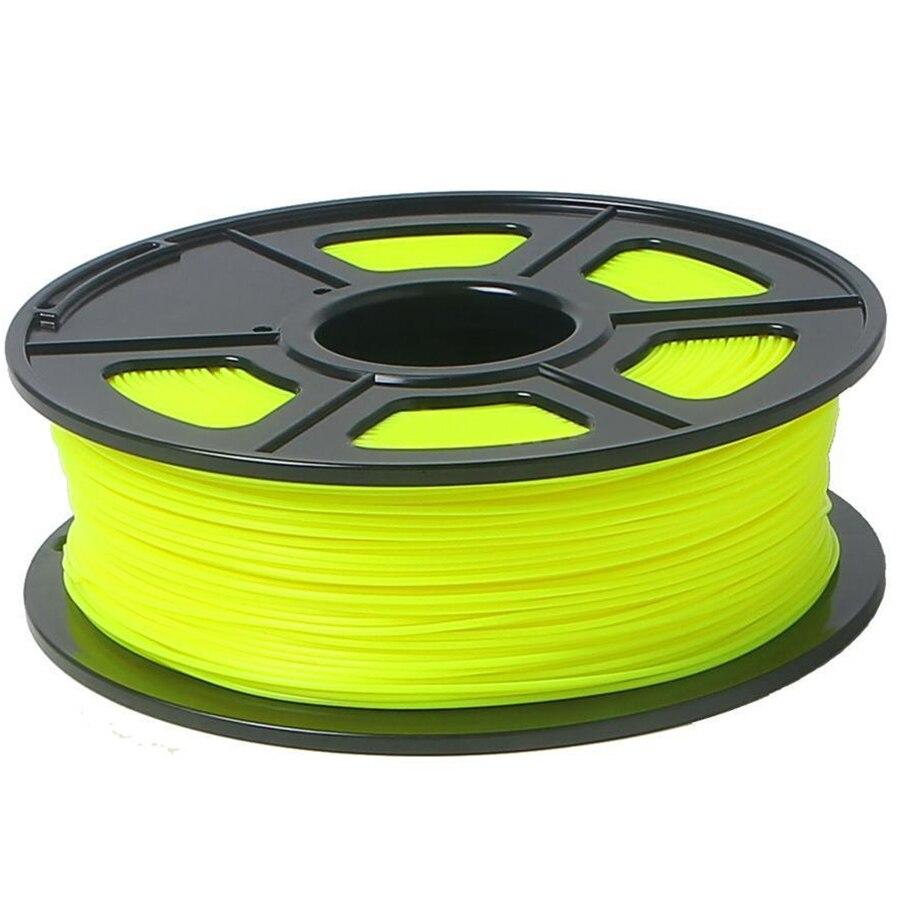 3D Printer Filament 1kg/2.2lb 1.75mm PLA Plastic for RepRap Mendel yellow 3d printer filament 1kg 2 2lb 3mm pla plastic for mendel green