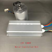 Wholesale Electric Bike Conversion Kit 72V 3000W BLDC Brushless Motor With 24 Mosfet 50A Controller For Scooter Motorcyc Engine