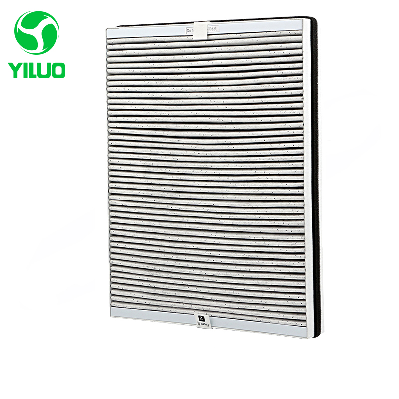 417*367*45mm Composite Filter Screen +Filter Cotton High-efficiency filter Air for Air Cleaner AC4096 ACP097 Air Purifier Parts air filter fits zenoah model eb700 new air cleaner cheap leaf blower parts