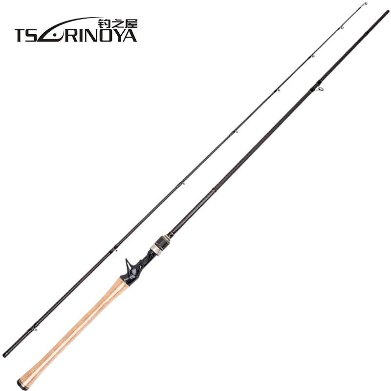 TSURINOYA PROFLEX II 1.89 m 1.95 m 2.13 m Canne à pêche coulée 2 Sec Canne à pêche Canne A pêche Vara De Para Pesca bâton De poisson carpe