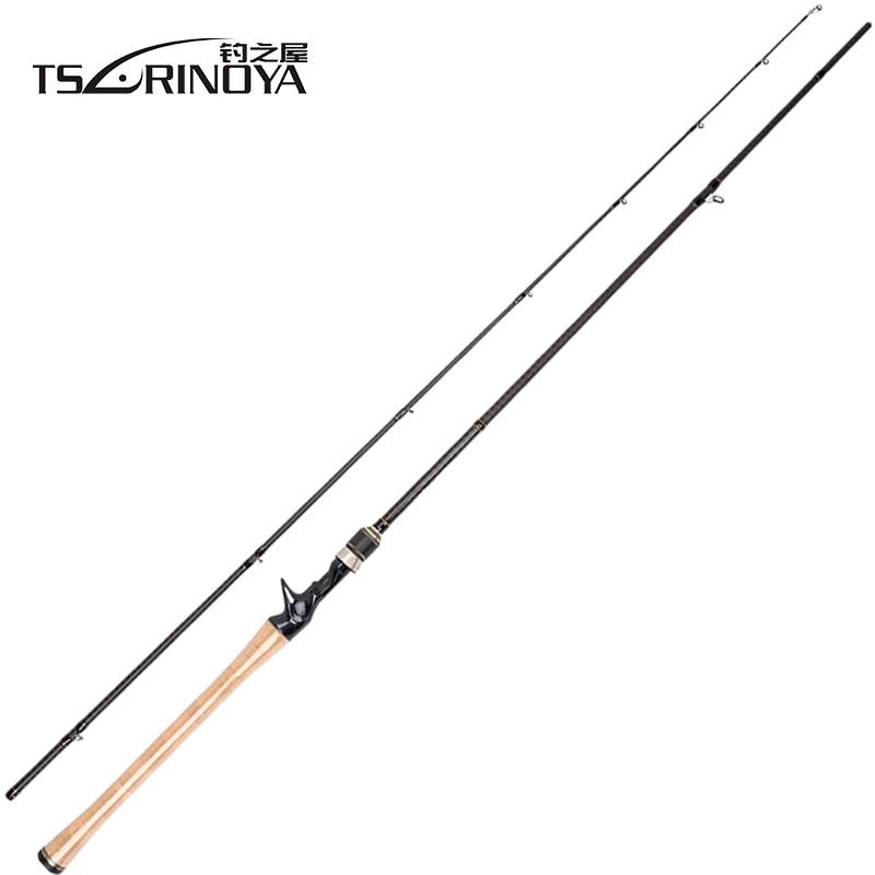TSURINOYA PROFLEX II 1.89 m 1.95 m 2.13 m Casting Hengel 2 Sec Hengel Canne EEN Peche Vara de Para Pesca Karper Vis Stok