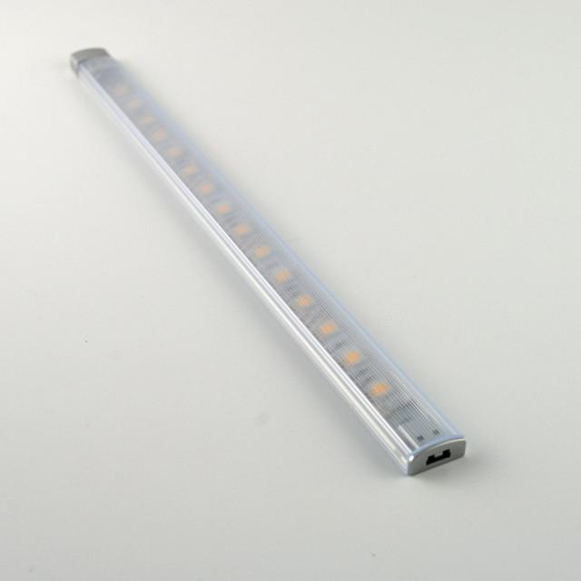 12V LED Under Cabinet Lighting Aluminum Profile LED Strip Light Bar For  Jewelry Showcase SMD5050(