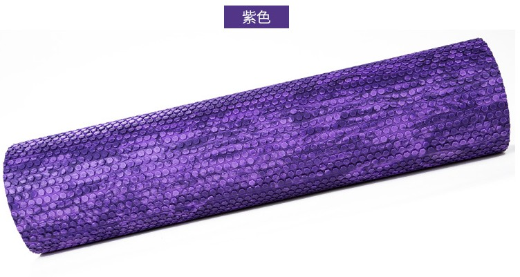 45cm Camouflage EVA Foam roller massage yoga column foam roller shaft yoga stick Balancing roller random color