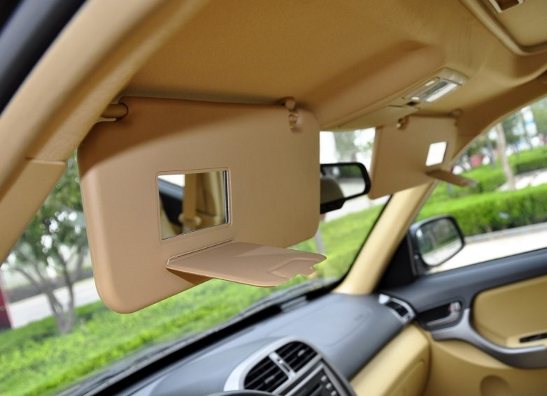 3 colors Sun visor assy. with mirror for Chinese CHERY TIGGO SUV 2005-2012 Auto car motor parts T11-8204020