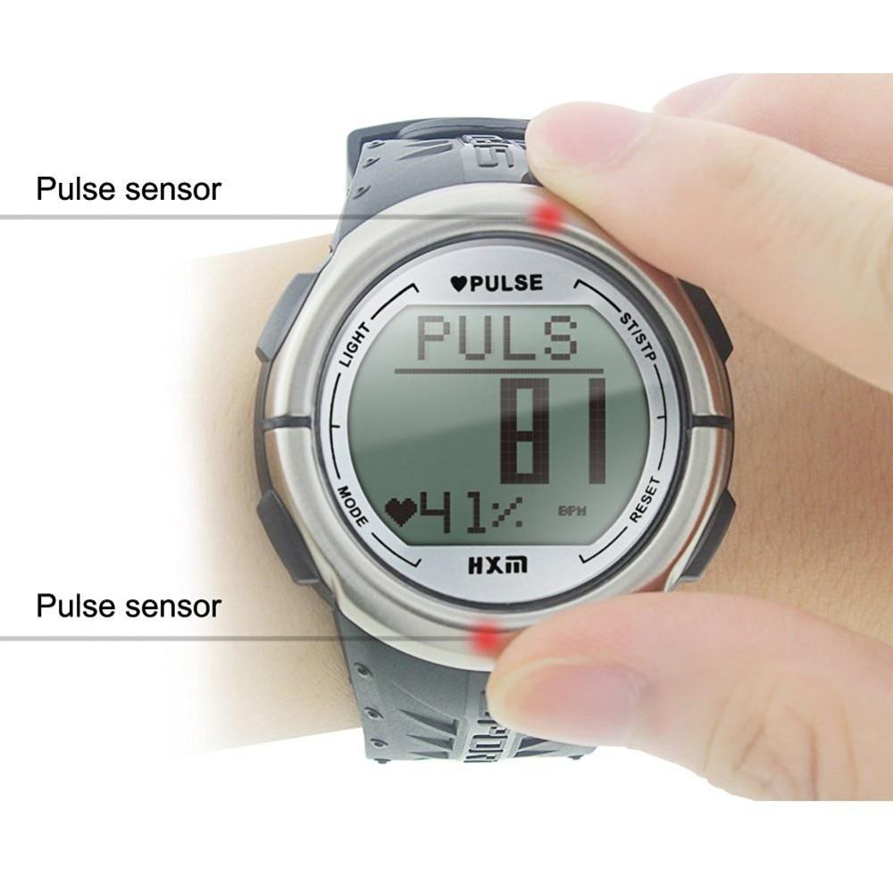 pulse sensor heart rate watch