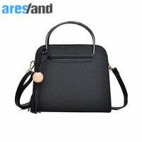 ARESLAND 2017 New Simple Fashion Flap Woman Messenger Handbags Bag Korean Version Shoulder Bag Pink Small