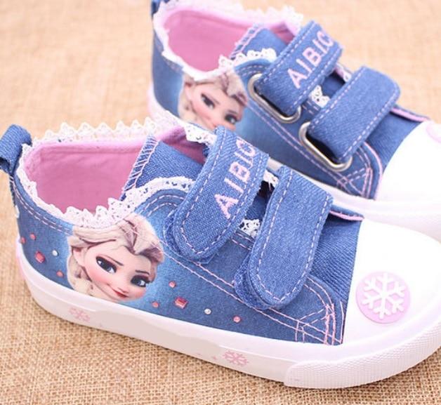 Spring autumn Children shoes child canvas sneaker girl cartoon fashion beauty boot cotton-made baby kids sandals sport shoe