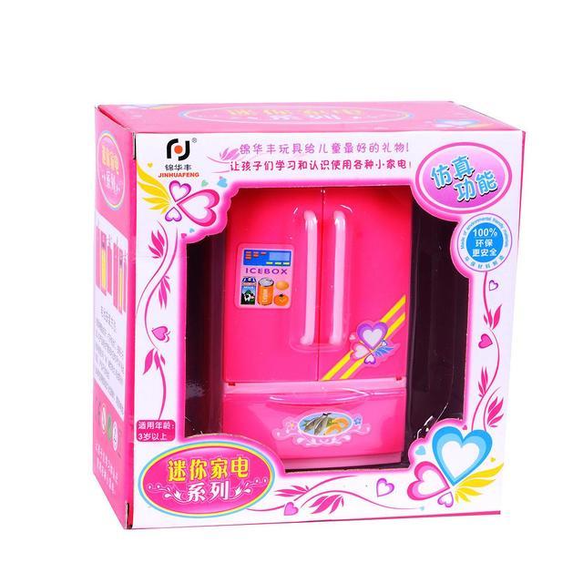 Kinder Küche Spielzeug Pretend Play Küche Kühlschrank Spielzeug Für ...