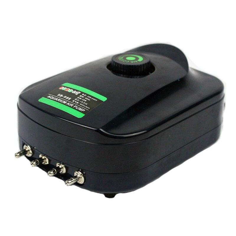 Aquarium air pump 220v AC Silent Compressor Fish Oxygen