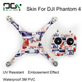 DJI Phantom 4 ПВХ 3 М Водонепроницаемый Стикер Кожи phantom4 профессиональный Quadcopter Drone частей