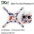 Phantom4 DJI Fantasma 4 PVC 3 M À Prova D' Água Adesivo de Pele profissional Zangão Quadcopter peças