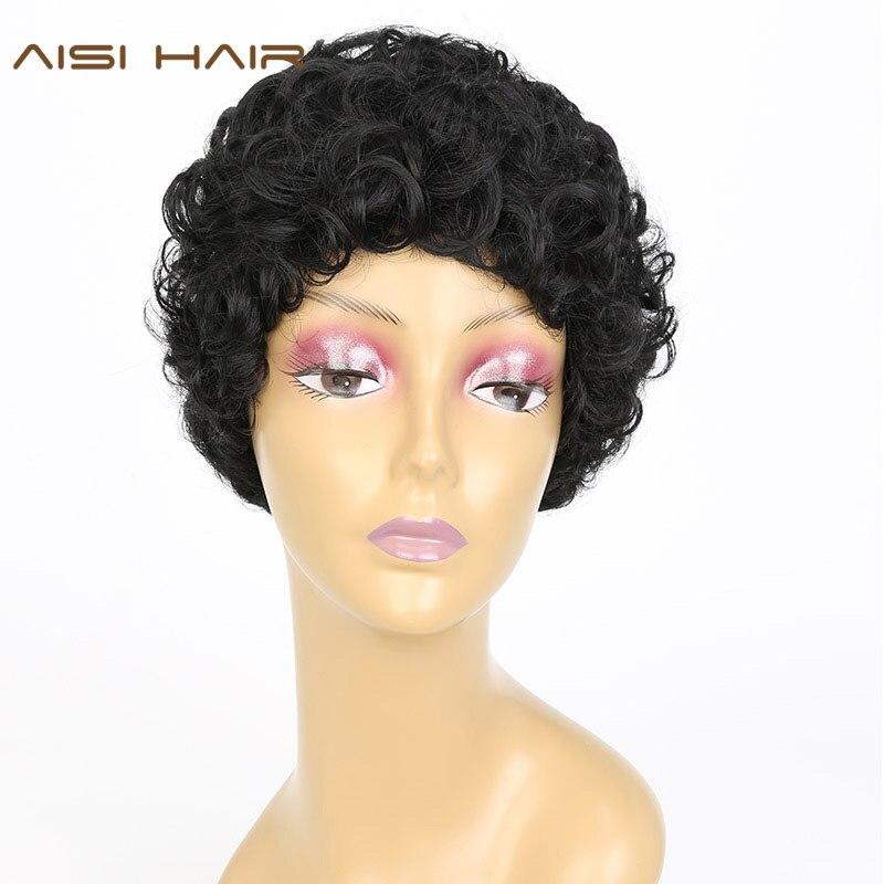 corto peinados para pelo rizado