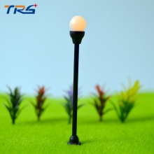 Teraysun 100pcs/lot model lamppost for train layout, lamp buidling