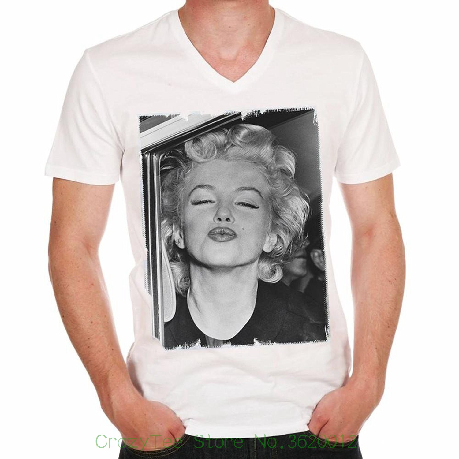 aaf161fe76b8 Buy marilyn monroe shirts men and get free shipping on AliExpress.com