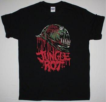 La pudrición de la selva de METAL completo se pudra negro T camisa la muerte de METAL siniestro GRAVE MASTER2018 nueva marca