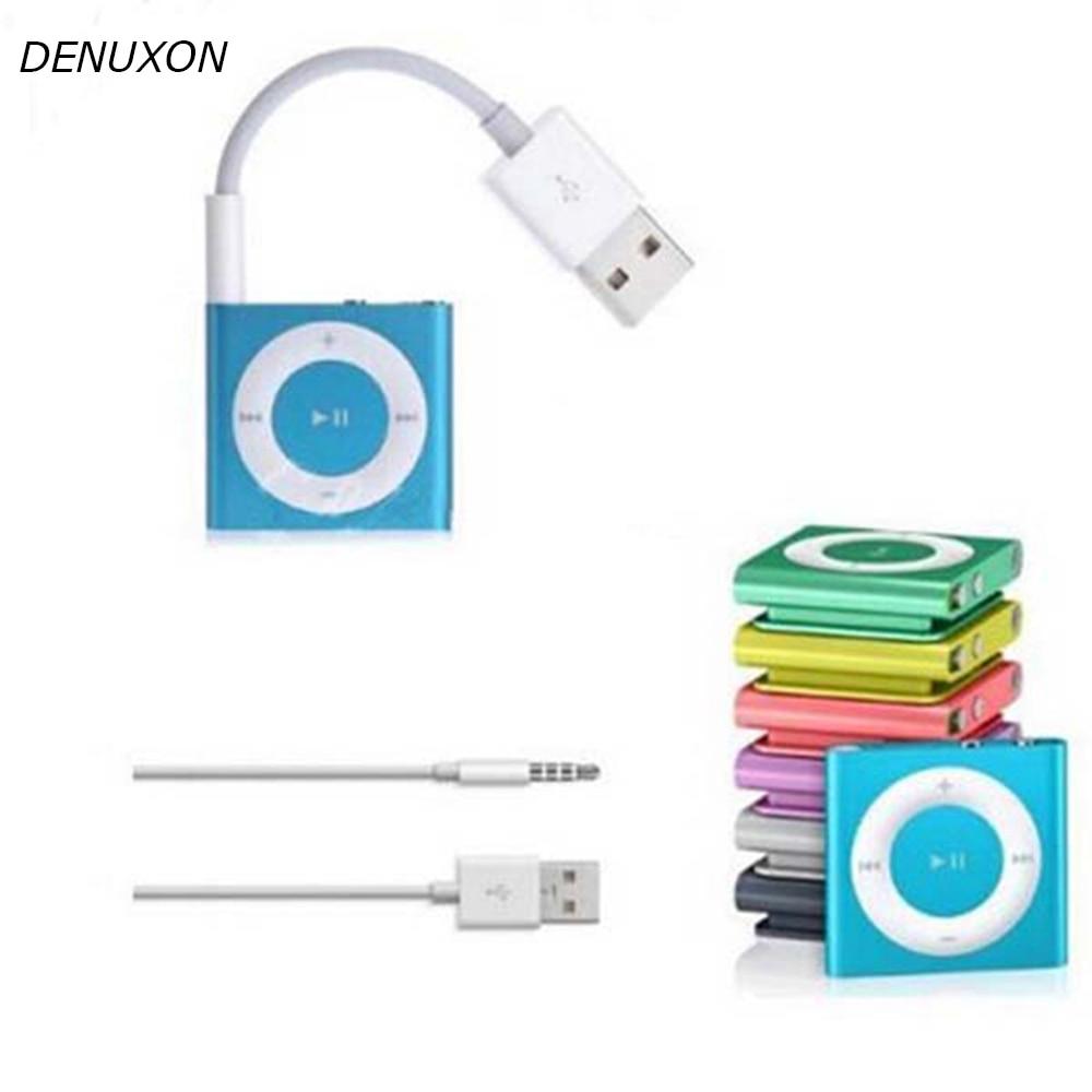 USB-кабель для зарядки и передачи данных для Apple iPod, Кабель-адаптер с USB на 3,5 мм для MP3-плеера, mp4-плеера, динамика, зарядный шнур