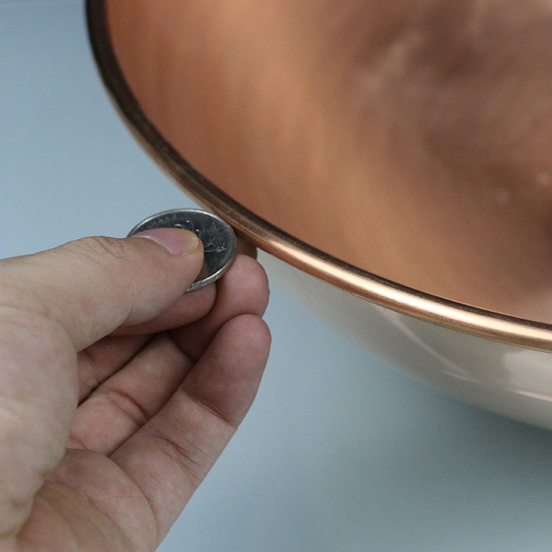 Pure Copper Manual Thicked Frying Wok Pan 3