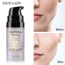 SACE LADY, праймер для макияжа, контроль жирности, матовая основа для макияжа лица, Крем 24 К, золото, профессиональная основа для пор, Праймер, косметика