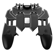 PUBG Controller Joystick Turnover Button Gamepad for IOS Android Six Finger Operating Gamepad Peripherals PUBG Mobile Controller