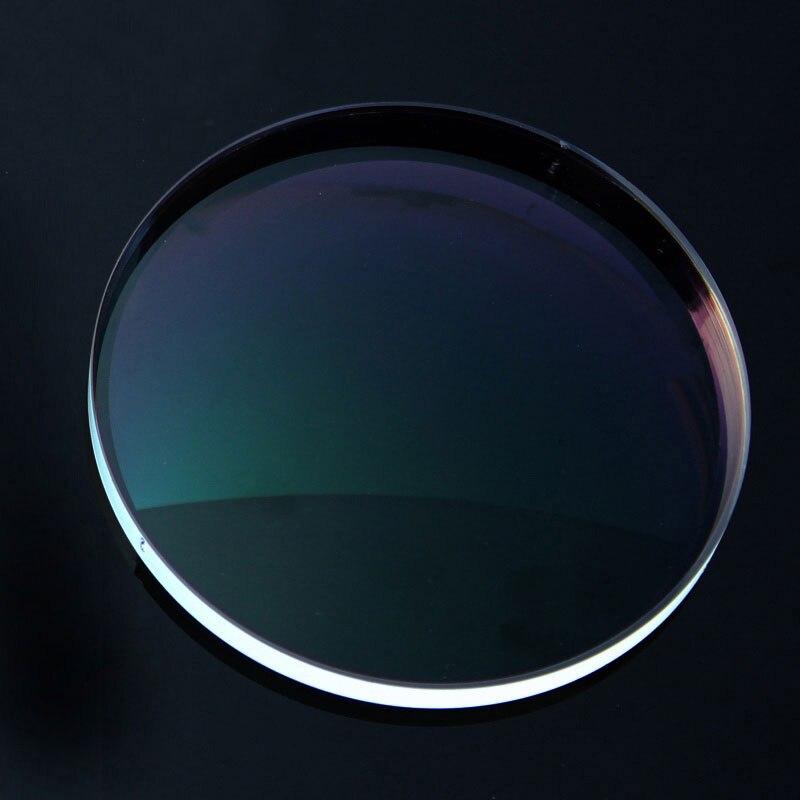 Nouveau 1.74 lentilles à Vision unique pour hommes et femmes lentille à Vision unique optique claire HMC, EMI asphérique Anti UV - 4