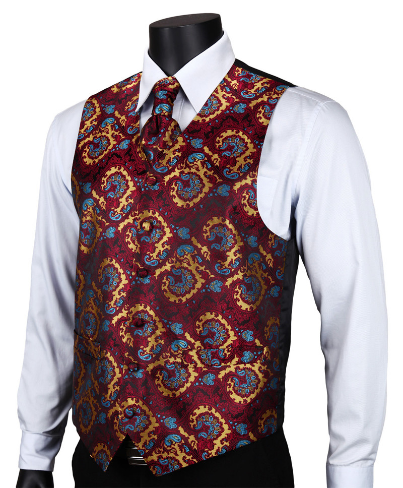 VE17 Burgundy Blue Paisley (1)
