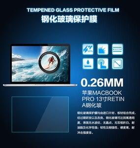 Image 2 - 透明強化ガラススクリーンプロテクター用のmacbook proの13網膜モデル2015 a1502インチ高靭保護フィルム熱い販売
