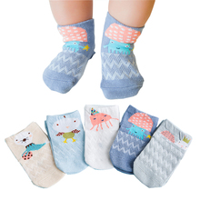 Cartoon Baby Socks Neonatal Spring Autumn Children Sock Mesh Cotton Kids Girls Boys Children Socks Kids Clothing