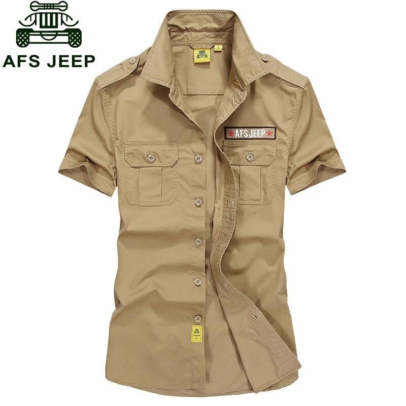 3c86b652af13 Más tamaño XXXL verano hombres 2017 algodón Camisas Navy color sólido  Vestido de manga corta suelta Tops Camisas casual Hombre ropa de marca