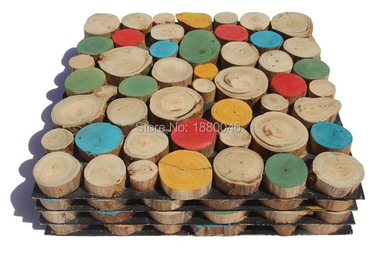 1box 11pcs 30x30cm sheet High Quality Eucalyptus China mosaic factory wood mosaic tile for wall natural wood mosaic pattern